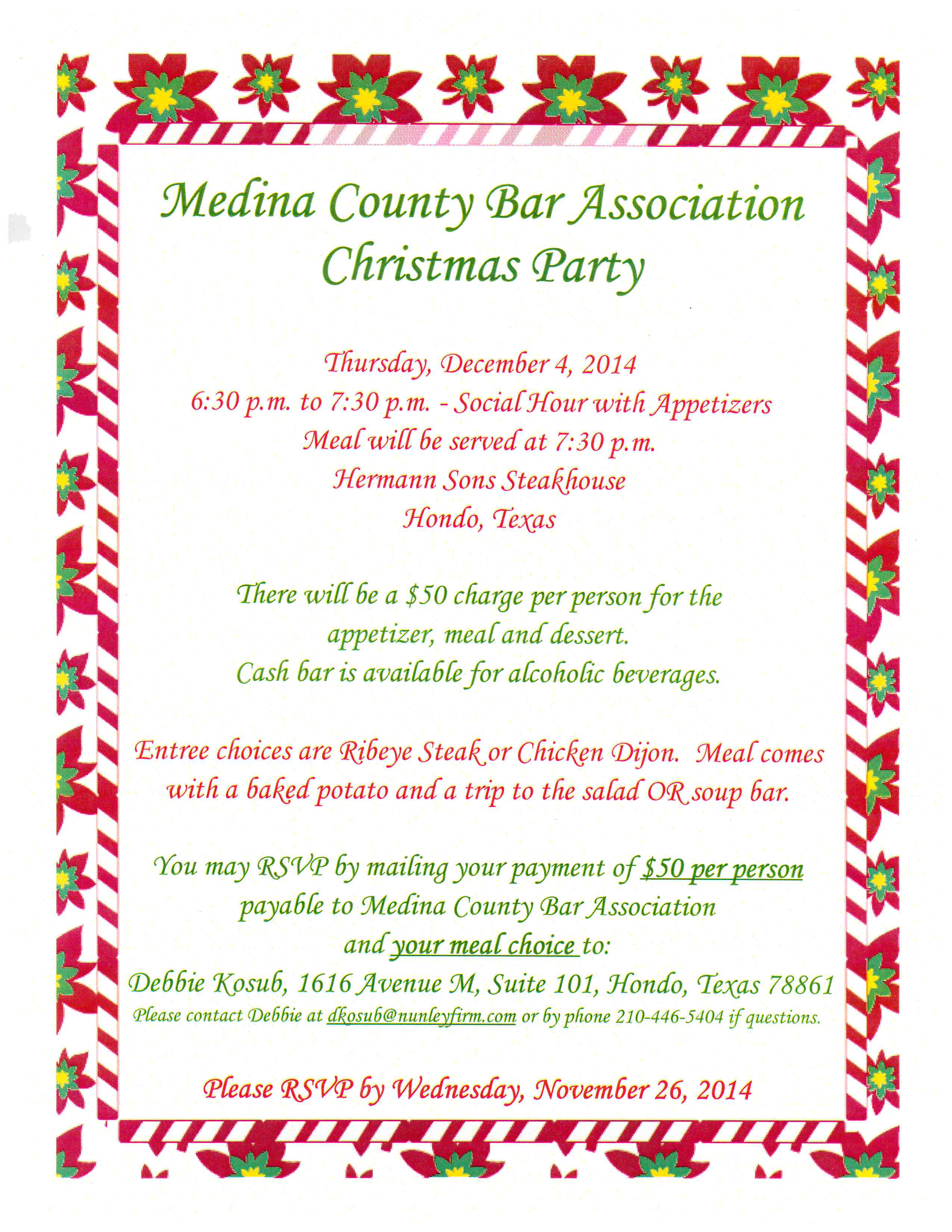 Party rsvp reminder template cmm operator sample resume 4 sample of a reminder sample of bill of lading document invoice mcba cristmas party 4 stopboris Images